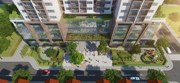Không gian xanh tại Eco Dream City