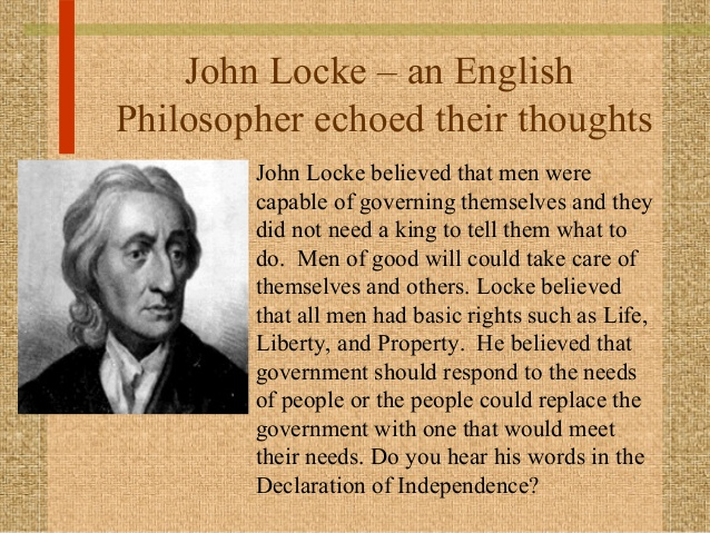 John Locke viewpoint of the world?