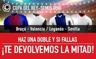sportium Promo Copa del Rey Semis (ida) 31 enero