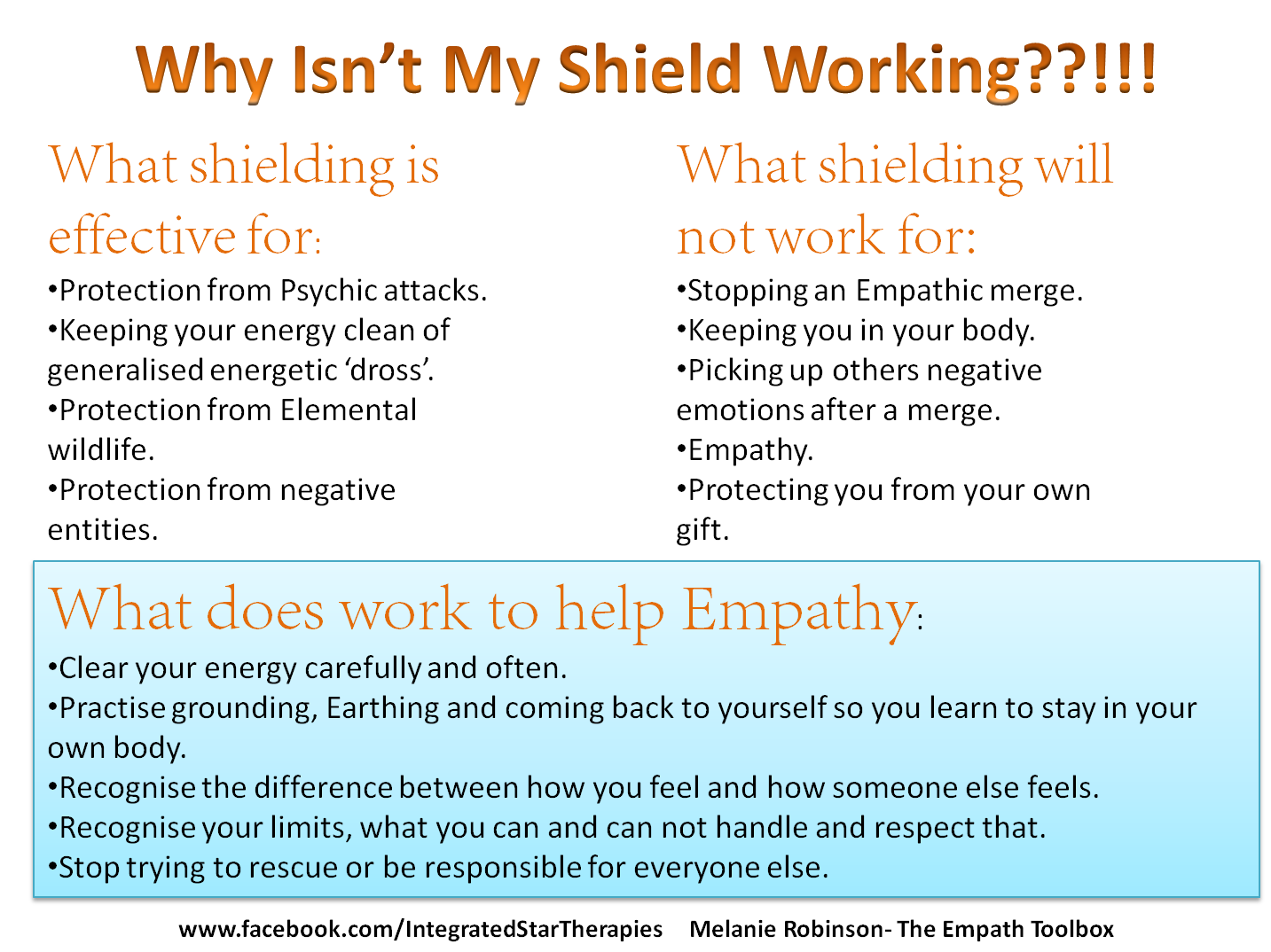 Why you can't shield your Empathy | Empath cleansing