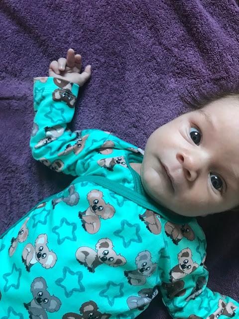 Baby, einen Monat alt