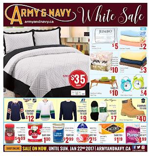Army & Navy Flyer January 10 – 22, 2017
