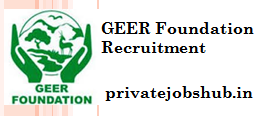 GEER Foundation Recruitment