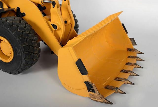 RC Hydraulic Wheel Loader 870K 1.14 Scale 11