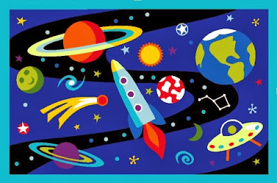 LA Rug Out of This World 19-by-29-Inch Nylon Rug
