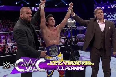 WWE CruiserWeight Classic Champion Winner