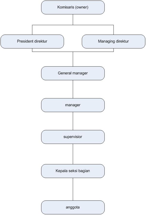 Contoh Carta Organisasi Struktur Fungsi - Force ID