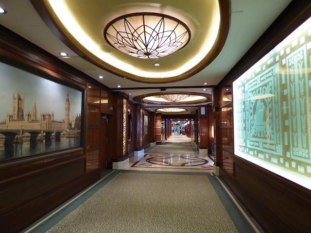 Cruise around Great Britain Cunard Queen Elizabeth review