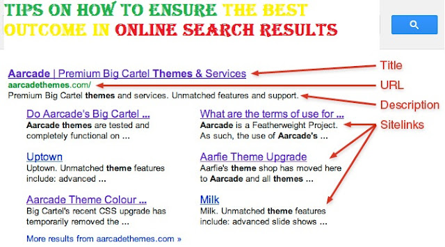 Tips on How to Ensure the Best Outcome in Online Search Results