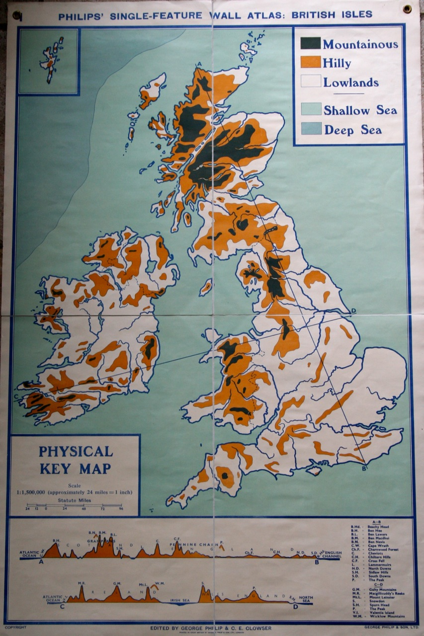 It's just an image of Ambitious Label the British Isles