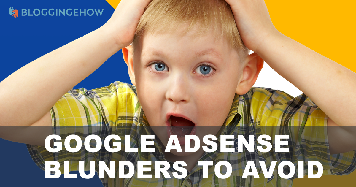 adsense tos blunders mistakes