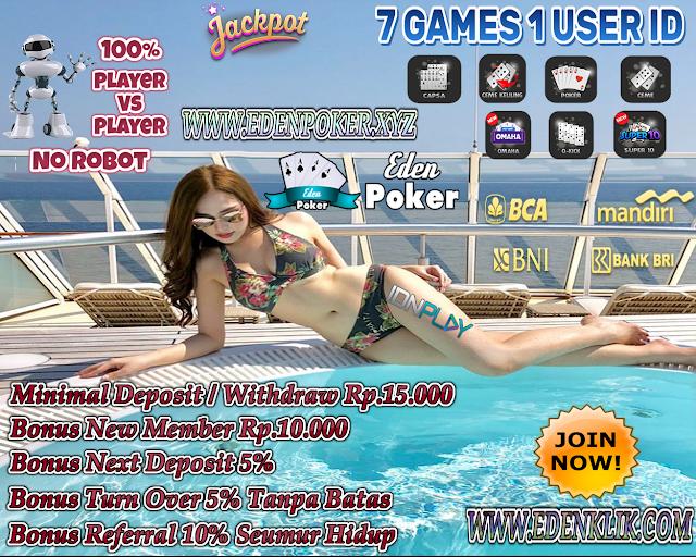 EdenPoker Poker IDN Terbaik