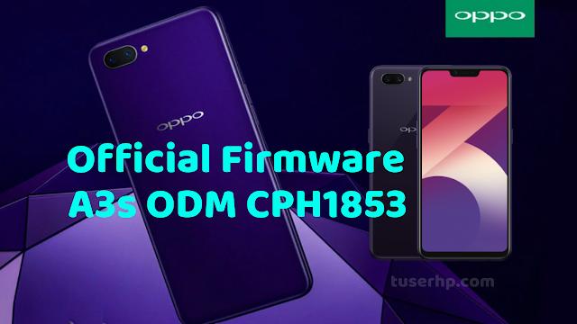 FIRMWARE OPPO A3S ODM CPH1853