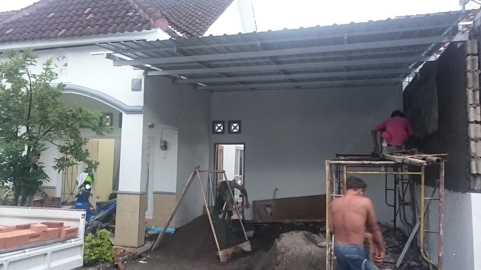 kanopi baja ringan yogyakarta tukang cat rumah gedung dan kantor jogjakarta renovasi