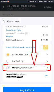 how to apply gift voucher on bookmyshow