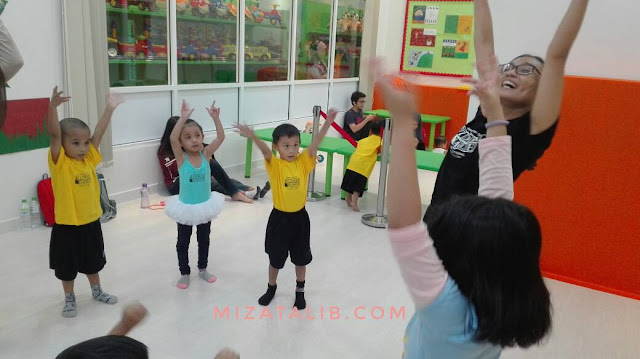 Jom sertai Kinderdance The Parenthood Sunway Pyramid