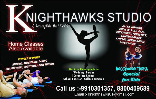 Knight Hawks Dance Studio Workshop in Noida