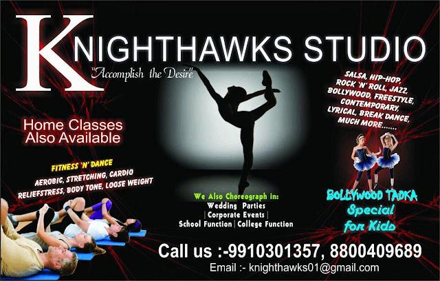 Knight Hawks Dance Studio Workshop in Noida