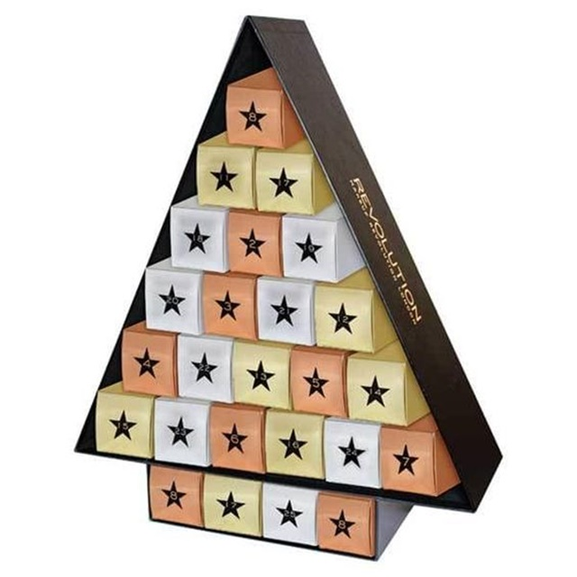 every beauty advent calendar for christmas 2017 polka. Black Bedroom Furniture Sets. Home Design Ideas