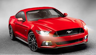 Ford Mustang GT convertible projector headlight  Hd picture