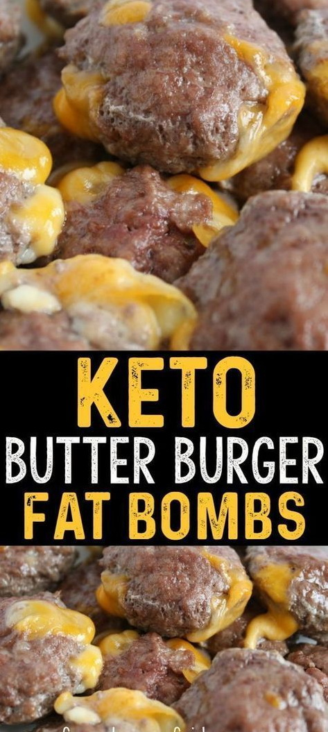 Keto Butter Burger Fat Bombs
