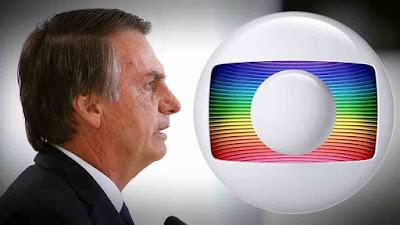 Em crise, Bolsonaro encontra executivo da Globo
