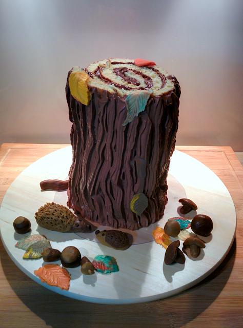 Baum, Kuchen, Wald
