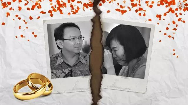 Terungkap 12 Bukti Yang Membuat Ahok Dengan Berat Hati Menceraikan Veronica Tan