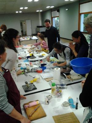 Soutien au japon orl ans photos du cours de cuisine - Cours de cuisine orleans ...