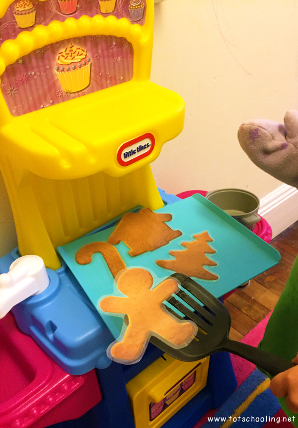 The Gingerbread Man Pretend Play Printable Activity