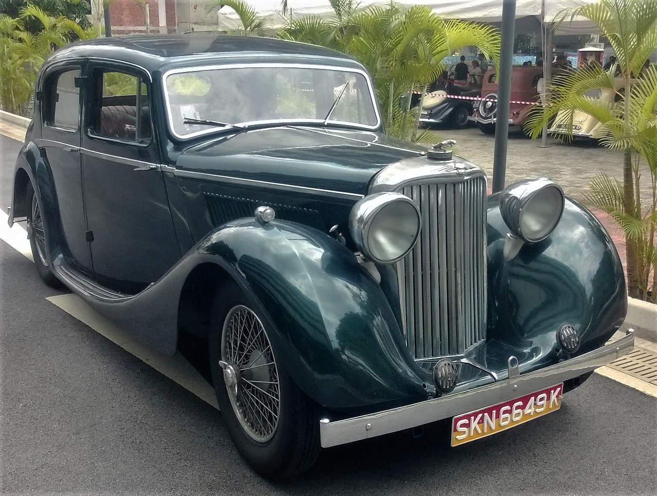 Singapore Vintage and Classic Cars: More than an old car #21: SS ...