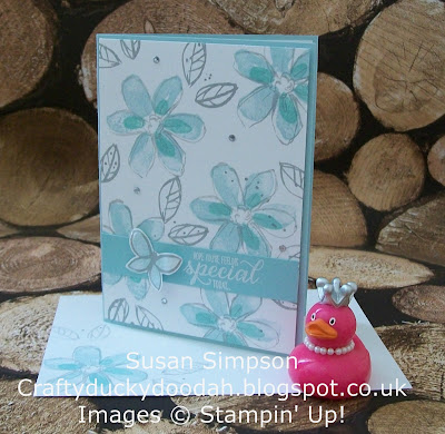 Stampin Up! UK Idependent Demonstrator Susan Simpson, Craftyduckydoodah!, Garden in Bloom,Christmas Commission, Supplies available 24/7,