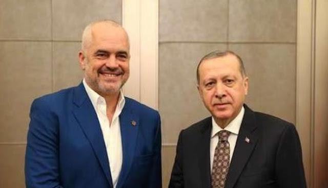 Περίεργη συνάντηση Ράμα με Ερντογάν