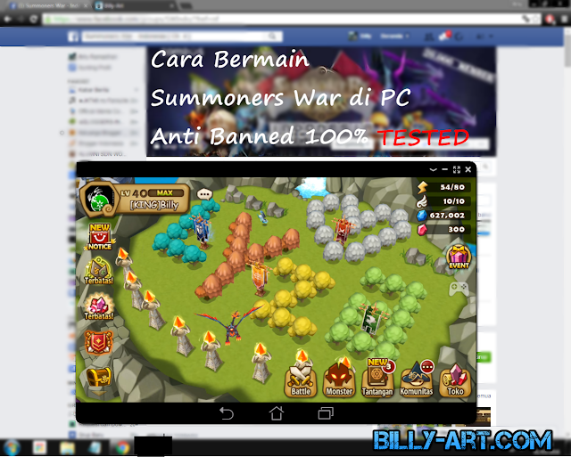 Cara Bermain Summoners War di PC Anti Banned