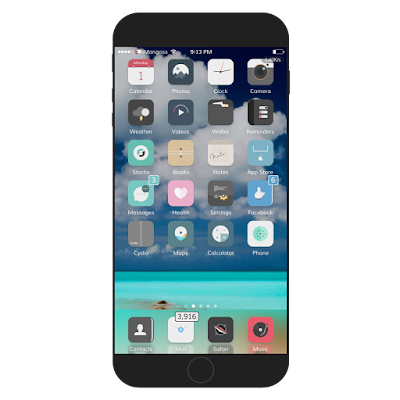 Are you looking for the best iOS 11, 10.2.1, 10, 10.2 and iOS 9 anemone hemes for iPhone? Well, I have listed the Top and best compatible Anemone themes for iOS 10, 10.2.1,10.2 and iOS 9