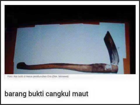 Artikel Tentang Pembunuhan Kumpulan Artikel Kasus Pembunuhan Anak Malas Belajar Kronologi Pembunuhan Kejam Gadis Dijolok Batang Cangkul Hingga Maut Di