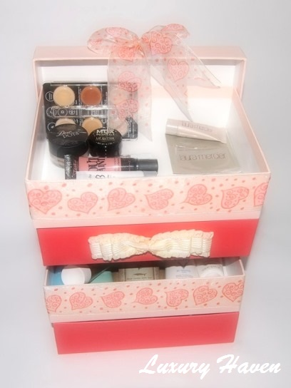diy bellabox make-up skincare products storage box