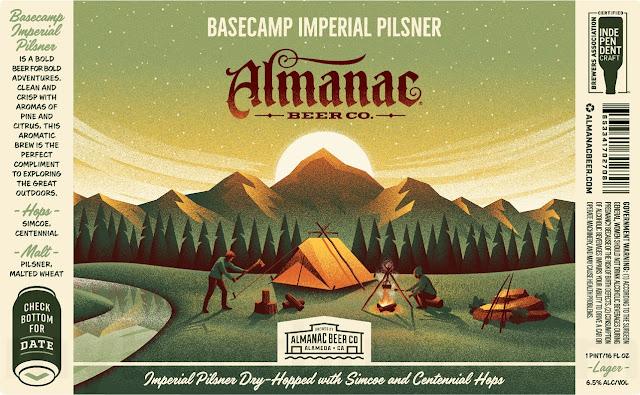 Almanac Adding Basecamp Imperial Pilsner Cans