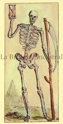 Tarot de Mitelli: La Muerte