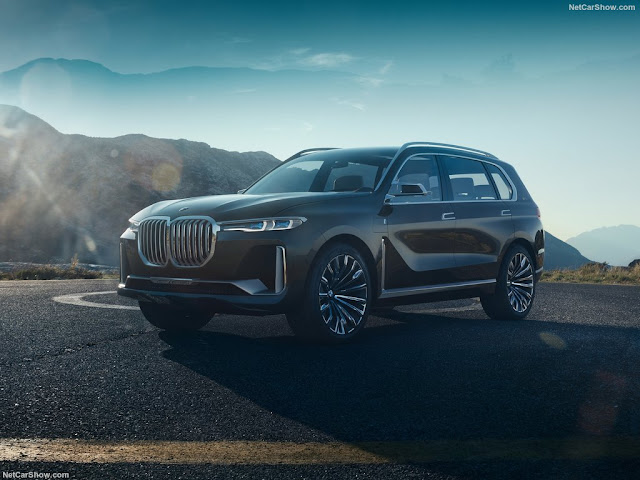 2017 BMW X7 iPerformance Concept - #BMW #X7 #Performance #Concept #suv