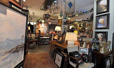 istanbul antique shops
