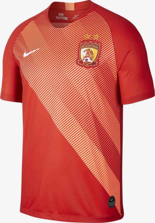 1dd993a76 Nike lança as novas camisas do Guangzhou Evergrande - Show de Camisas