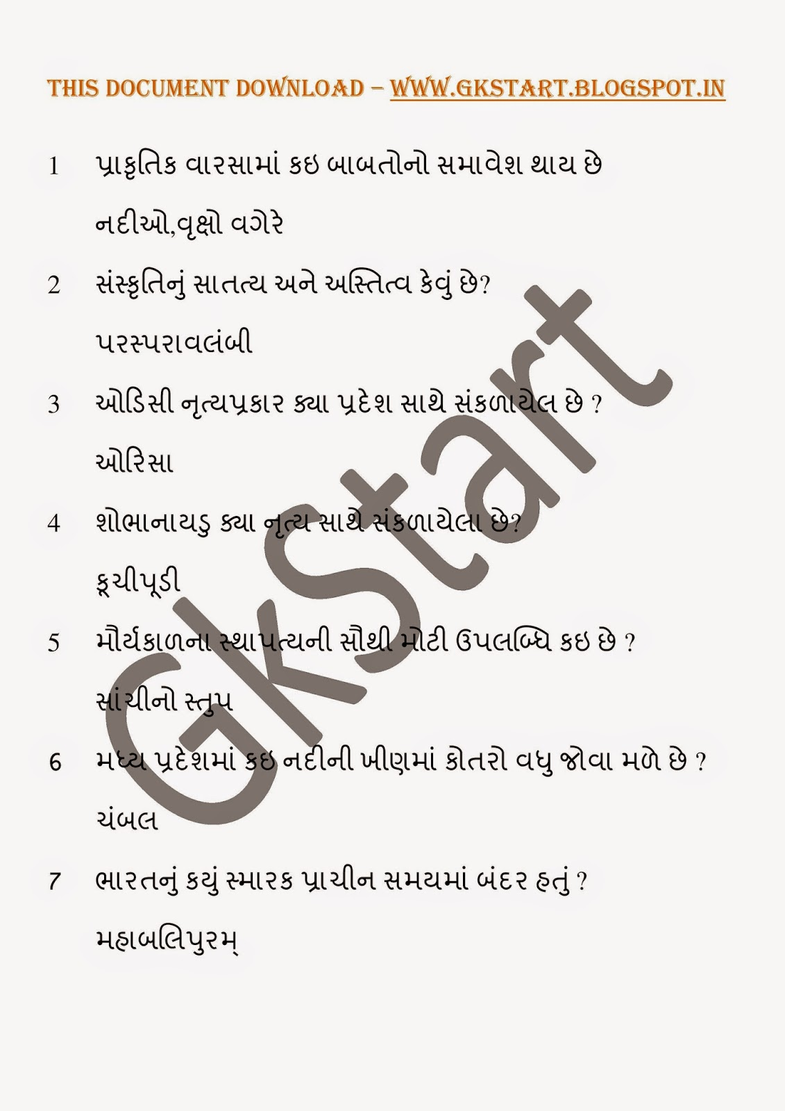 General Knowledge Pdf File