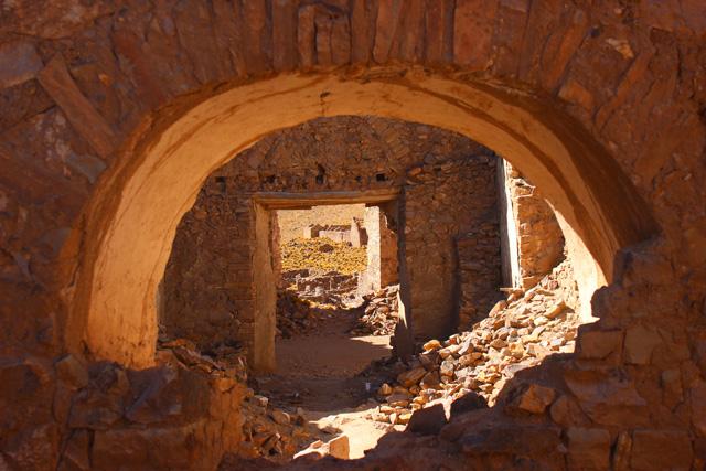 Algunos arcos de piedra resisten en San Antonio de Nuevo Mundo