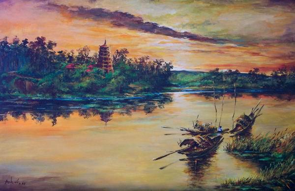Tranh Landcape's Việt Nam