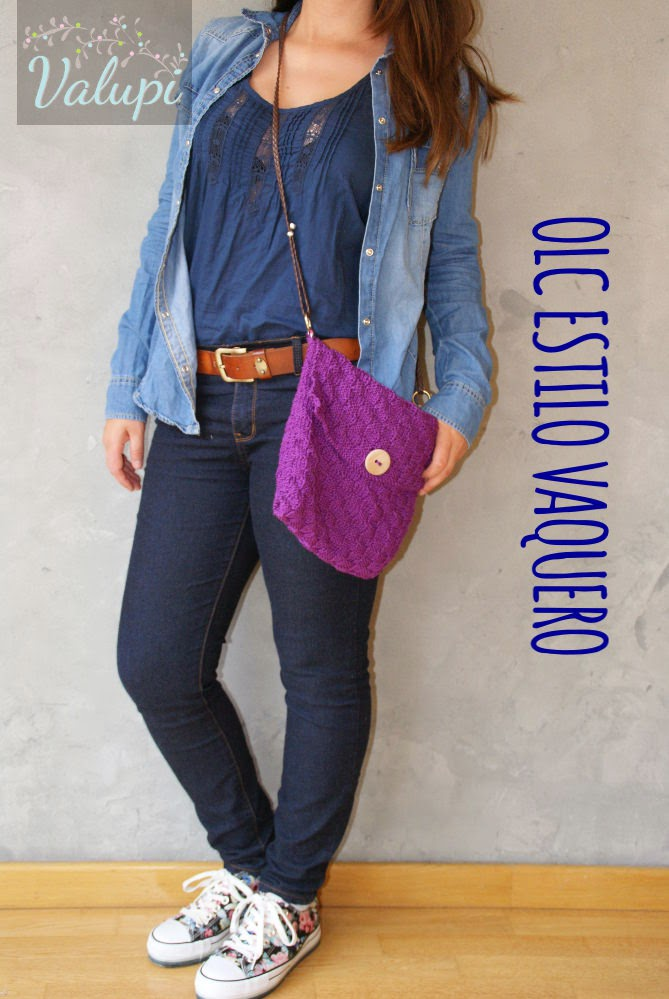 Valupi - Handmade with love  Outfit low cost  Estilo vaquero 19f7a8551ce