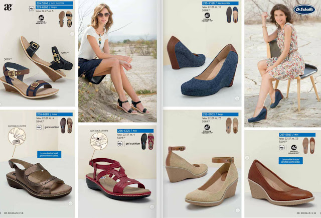 Andrea zapatos Dr  Scholls verano 2018 | catalogo