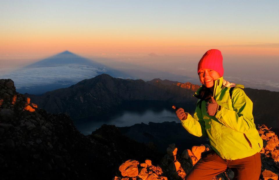 Puncak Gunung Rinjani 3726 meter
