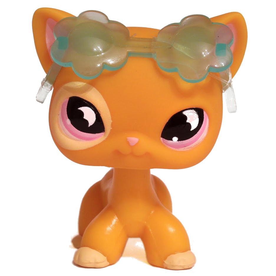 Littlest Pet Shop 3 Pack Scenery Cat Shorthair 855 Pet Lps Merch