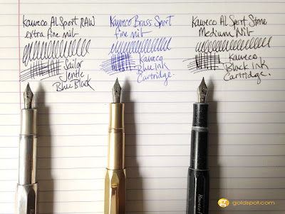 A Trio of Kaweco Sport Pens - AL Raw Brass and Stonewashed Review